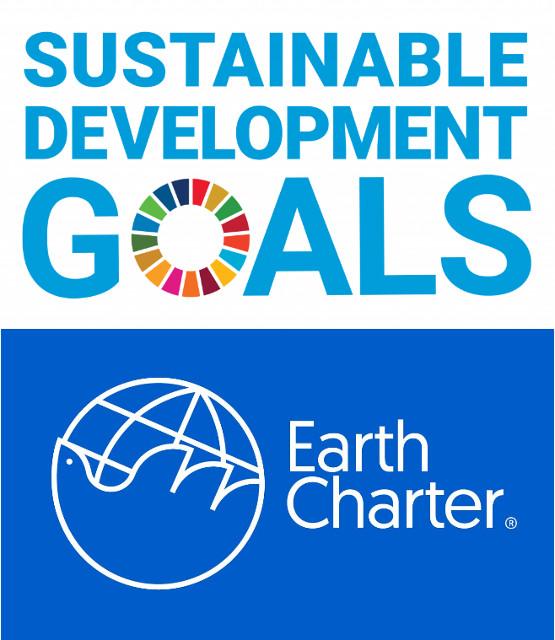 17 obiettivi ONU per lo sviluppo sostenibile e 16 principi della Carte della Terra / Earth Charter